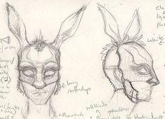 Donkey head/mask ideas - Bottom