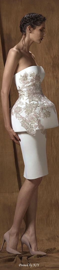 Saiid Kobeisy Couture Spring-Summer 2016