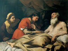 Ο Ισαάκ ευλογεί τον Ιακώβ 1654