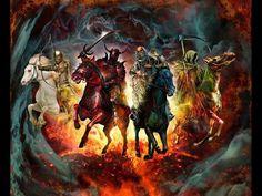 Что происходит в мире в условиях отсутствия перспективы будущего, или о ... Prophecy Update, The Seventh Seal, Horsemen Of The Apocalypse, Lion Of Judah, The Son Of Man, The Four, Creatures, Bible, Monsters