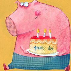 cochon d'anniversaire #jeu #fun Www.jeuxdujardin.fr #cochon qui rit