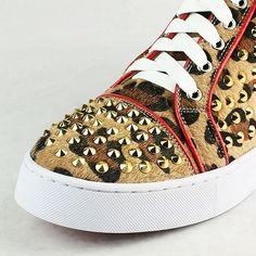 Christian Louboutin Louis Leopard Sneaker