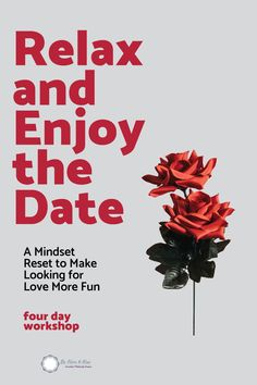 Join me for this fabulous workshop where you will learn how to approach dating in a completely different way. Instead of waiting for that one guy to call you, have fun while several other guys are trying to book a date with you. #datingadvice #love