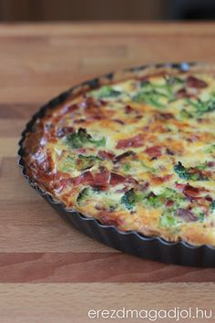 Diétás quiche recept Quiche, Breakfast, Food, Meal, Eten, Quiches, Meals, Morning Breakfast, Custard Tart