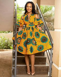 Nice African Dresses For Women, African Dress Styles, Modern African Dresses, African Outfits, African Print Dresses, African Fashion Dresses, African Attire, African Women, African Clothes