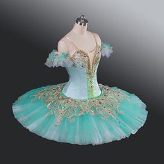 Emerald Professional Ballet Tutu Classical Dance Costume Competition Performance