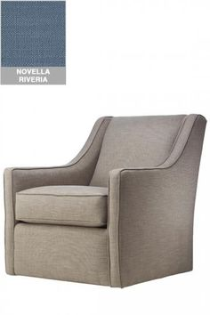 custom khloe upholstered swivel chair living room