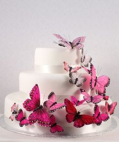 Butterfly cake decorations