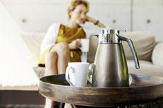 Purer Kaffeegenuss. #emsa #emsagmbh #bell #kaffeekanne #isolierkanne #metallic #kaffee