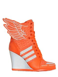 Rita Ora in The Latest Adidas x Jeremy Scoot High-Heeled Sneakers ...