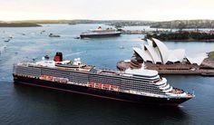 Queen Elizabeth in Sydney www.cruisenow.com.au