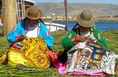 Il Viaggiatore Magazine - Donne Uros - Lago Titicaca, Perù