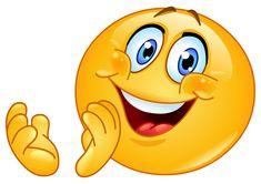 Cartoon of a Happy Emoticon Smiley Holding a Thumb up - Royalty Free Vector Clipart by yayayoyo New Emoticons, Symbols Emoticons, Animated Emoticons, Emoji Symbols, Facebook Emoticons, Smiley Emoji, Smiley Faces, Funny Videos, Funny Video Clips