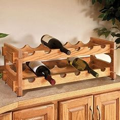 Woodworking Project Paper Plan to Build Stackable Wine Racks