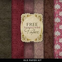 Far Far Hill - Free database of digital illustrations and papers: Freebies Vintage Background Digital Paper Free, Free Digital Scrapbooking, Digital Scrapbook Paper, Free Paper, Scrapbooking Freebies, Digital Papers, Background Vintage, Paper Background, Free Background Patterns