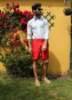 Flores!. Look estilo Masculino 2014.