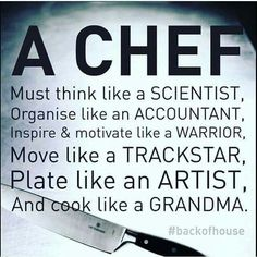 Dating a chef quotes