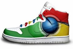 Chrome Sneakers!