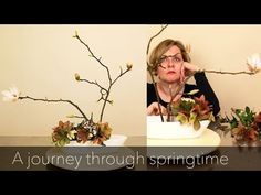 A journey through spring time with Ikebana • Ikebana Beautiful #ikebana #video #arrangement