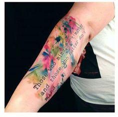 Multicolor splatter n words tattoo ideas тату, татуировки, тюльпаны. Wörter Tattoos, Neue Tattoos, Word Tattoos, Trendy Tattoos, Tatoos, Foot Tattoos For Women, Sleeve Tattoos For Women, Aquarell Tattoos, Ink Master