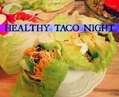 Healthy Taco Night!
