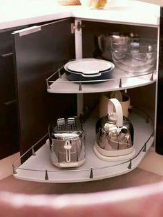 Gabinete práctico cocina