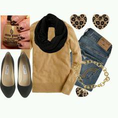 comfy casual fall outfit idea