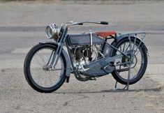 """1915 Harley Davidson 11F Twin - George Pardos Collection """"Evolution of the Harley-Davidson Motorcycle"""""""