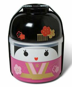 Take a look at this Pink Tomodachi Bento Set today!
