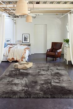 Nothing beats the plush comfort and elegance of a sheepskin rug. Add rustic beauty to any part of your home with an Australian sheepskin rug. Plush Area Rugs, Fur Blanket, Sheepskin Rug, Shag Rug, Rustic, Home Decor, Mens Fur, Free Shipping, Aspen