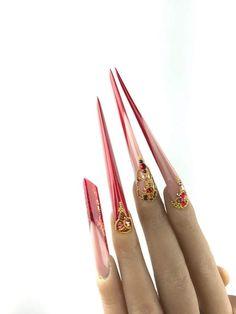 Komm und lerne von den Profis! Salzburg, Austria Red Nails, Long Nails, Ants, Salzburg Austria, Hairstyle, Beauty, Red Toenails, Hair Job, Red Nail