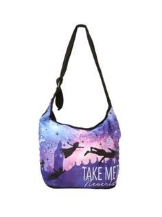 Disney Peter Pan Take Me To Neverland Hobo Bag