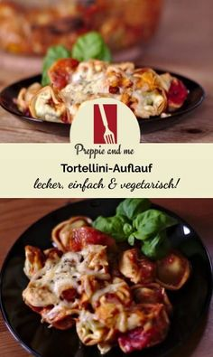 Vegetarian can taste so good! Tomato Tortellini Soup, Tortellini Bake, Krups Prep&cook, Easy Casserole Recipes, Eat Smart, Pasta Dishes, Meat Recipes, Food Hacks, Vegetarian