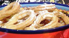 La ricetta dei churros, il dolce di oggi La prova del cuoco dello chef spagnolo