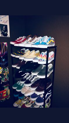 Shoe Box Decoration Ideas Best Of I Need This Collection Heels In 2019 - Schuhe Ideen Cute Vans, Cute Shoes, Me Too Shoes, Tenis Vans, Aesthetic Shoes, Dream Shoes, Shoe Closet, Mode Inspiration, Shoe Box