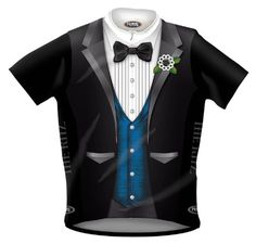 Primal Wear Ritz Tuxedo Cycling Jersey with Blue Vest  2XL ** Want additional info? Click on the image.