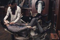 Men's Joker - l'artiste capillaire  Models: Jin Dachuan,  Rock Ji  Photographer: Jumbo Tsui