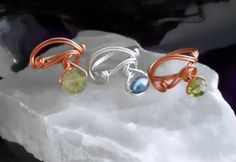Offset Bead Wire Wrapped Ring Tutorial - The Beading Gem's Journal