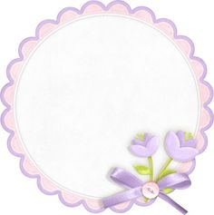 """Photo from album """"Сказочная мечта"""" on Yandex. Butterfly Frame, Flower Frame, Flower Circle, Farm Animal Party, Cute Scrapbooks, Cherry Flower, Alcohol Ink Crafts, Quilt Labels, Cute Polymer Clay"""