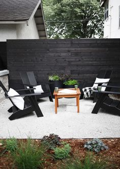 Large backyard landscaping ideas are quite many. However, for you to achieve the best landscaping for a large backyard you need to have a good design. Privacy Landscaping, Backyard Privacy, Backyard Fences, Modern Landscaping, Landscaping Ideas, Black Rock Landscaping, Privacy Wall Outdoor, Landscaping Software, Wood Privacy Fence