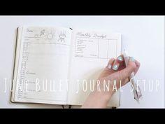 June Bullet Journal Setup | Plan With Me | Hello Deborah - YouTube