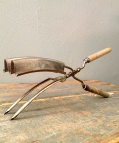 Antique Hair Crimping Iron, early 1900s