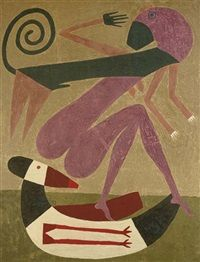 View LE CHOIX by Victor Brauner on artnet. Browse upcoming and past auction lots by Victor Brauner. Tristan Tzara, Paul Klee, Victor Brauner, Naive Art, Art Graphique, Collage, Outsider Art, Whimsical Art, Max Ernst