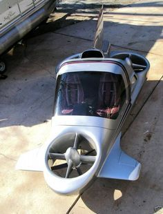 Flying Car - Last Sky Commuter Prototype in existence reaches eBay [Flying Cars: http://futuristicnews.com/tag/flying-car/]