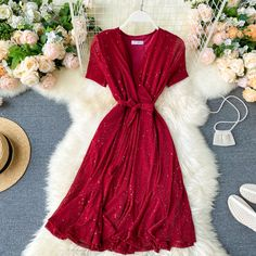 Girls Fashion Clothes, Girl Fashion, Fashion Outfits, Cute Casual Outfits, Stylish Outfits, Striped Off Shoulder Top, Daily Dress, Ulzzang Fashion, Caftans