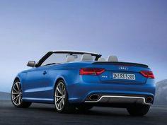 #Audi #RS5 Cabriolet. La versione cabrio della potentissima RS5.