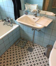 Billedresultat for badeværelse 70'er