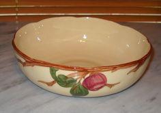 Franciscan Apple 8 Inch Vegetable Serving Bowl China Dinnerware Vintage 40s USA  #teamsellit #relove