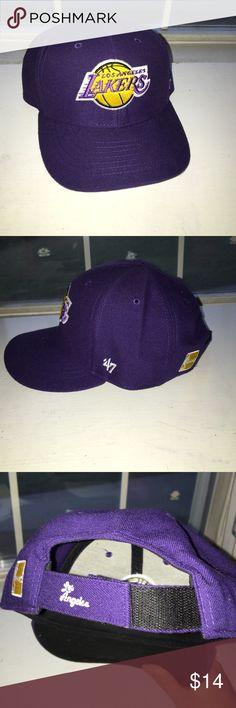 Los Angeles Lakers Baseball cap New, never worn purple LA lakers hat 47 Accessories Hats