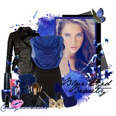 """blue eyed beauty"" by candy420kisses on Polyvore"
